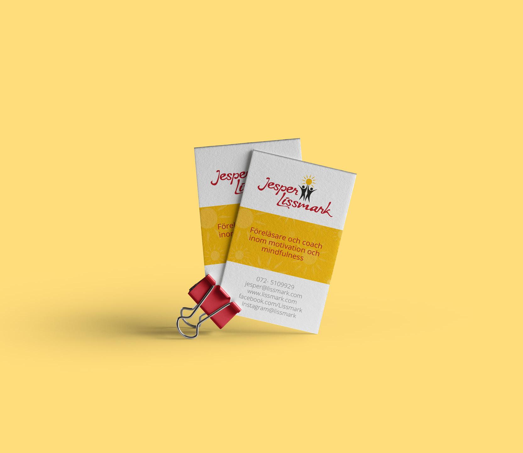 Visitkort Formgivning Lissmark