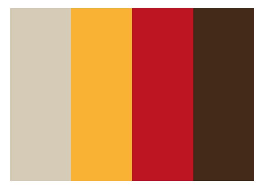 Gärdet Gård profilfärger grafisk profil