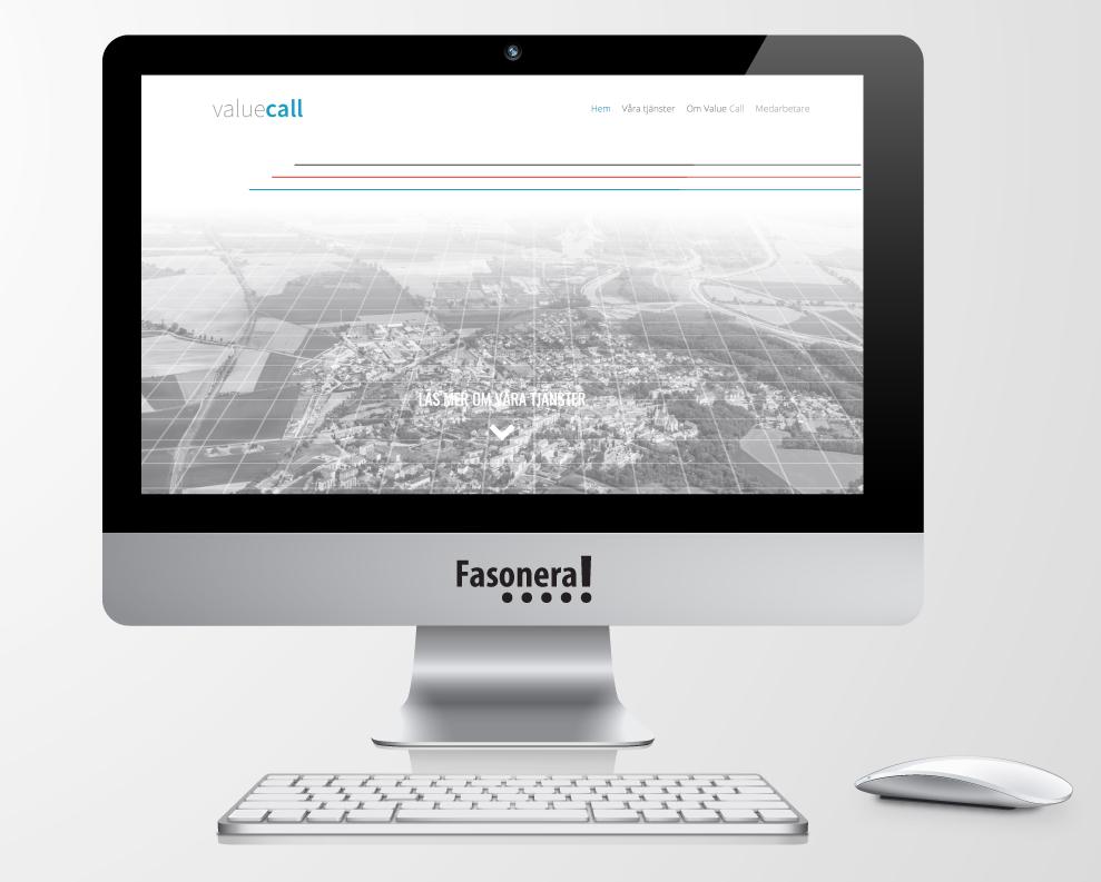 Hemsida Webbplats Webbdesign Value call