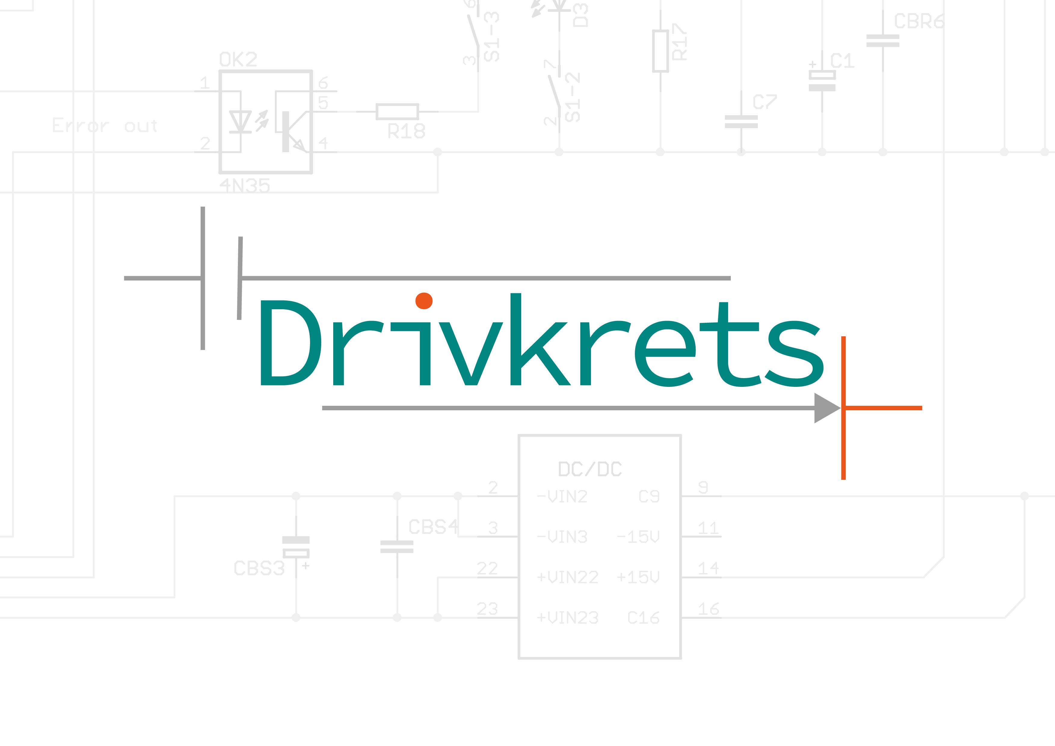 Logotyp logga Drivkrets