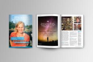 Magasin Tidning formgivning formgivare design