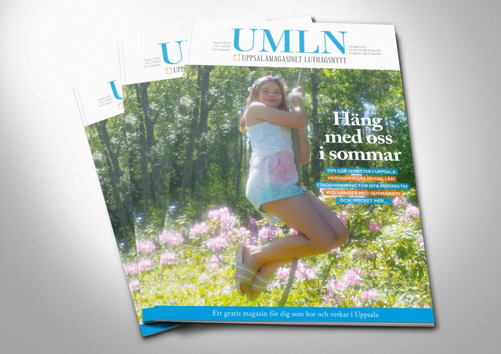Magasin tidning design formgivare
