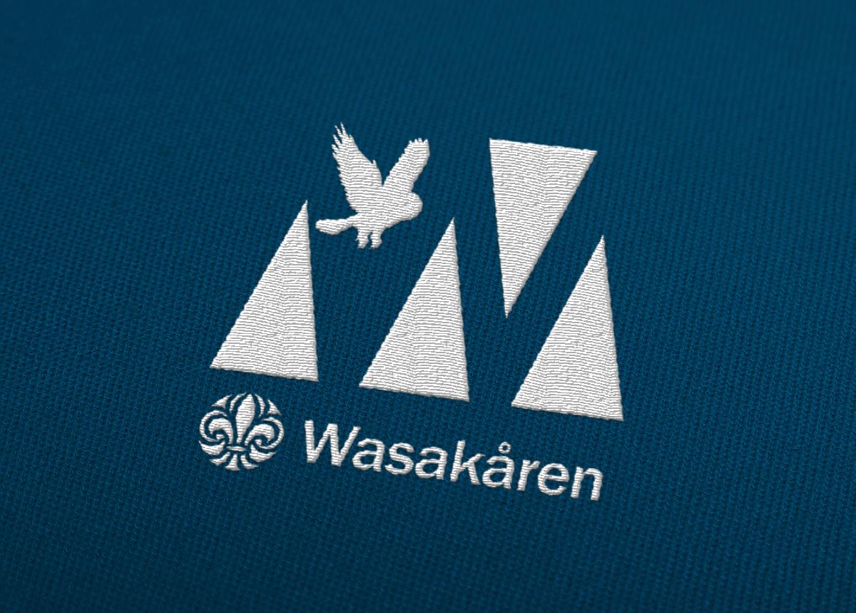 Logotyp logga Wasakåren