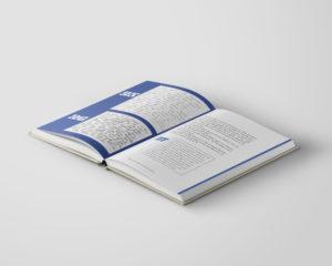 Bok formgivning inlaga sättning