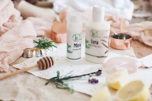 Produktetiketter och förpackningar. Fotograf Natasha Hurley